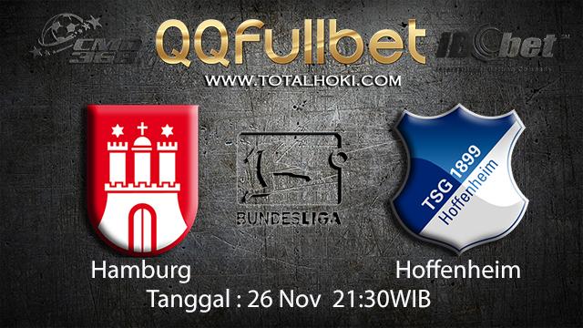 PREDIKSIBOLA - PREDIKSI TARUHAN BOLA HAMBURG VS HOFFENHEIM  26 NOVEMBER 2017 (BUNDESLIGA)