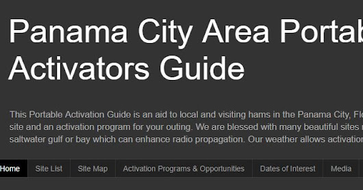 Panama City Area Activators Guide