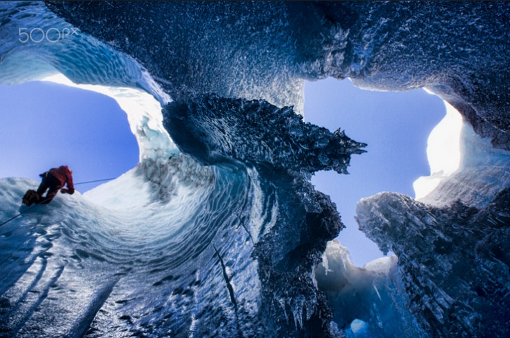 Top 10 Natural Wonders in North America - Mendenhall Ice Caves, USA