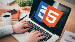 The Complete HTML5 and CSS3 Course with 8 Website Design