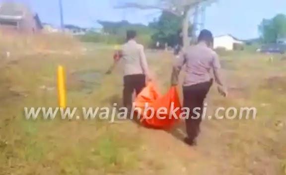 Warga Kampung Pondok Dua, Digegerkan Penemuan Mayat di Bantaran Anak Kali CBL