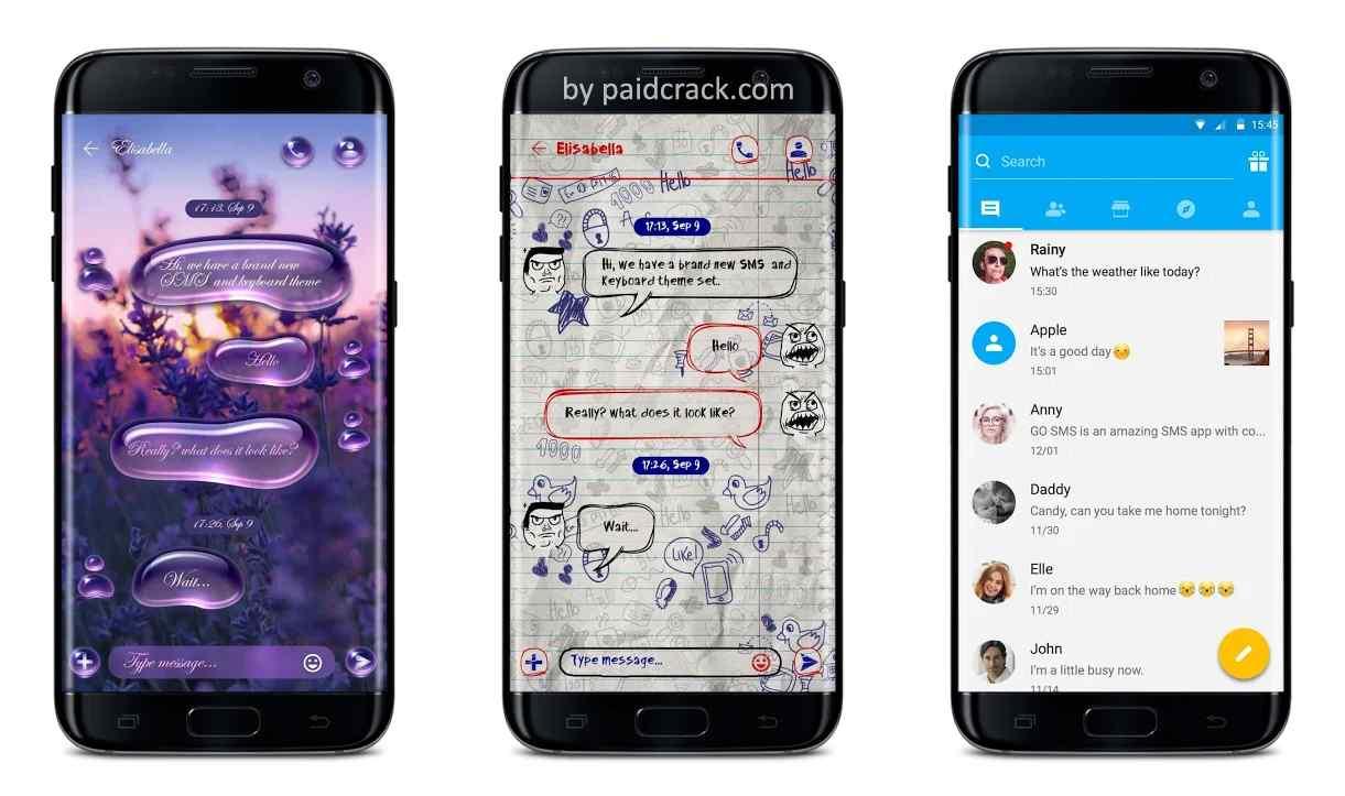 GO SMS Mod Apk