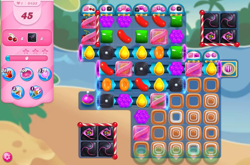 Candy Crush Saga level 9433