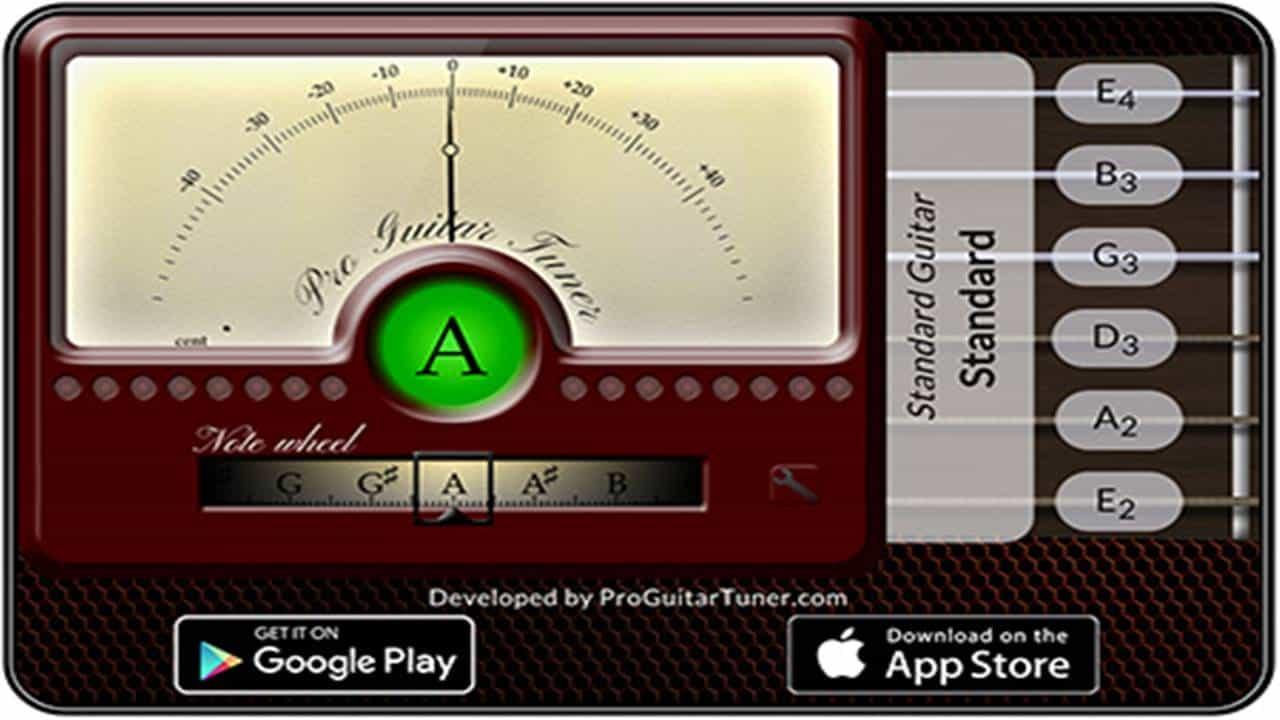 Cara Stem Gitar dengan Aplikasi Android Pro Guitar Tuner