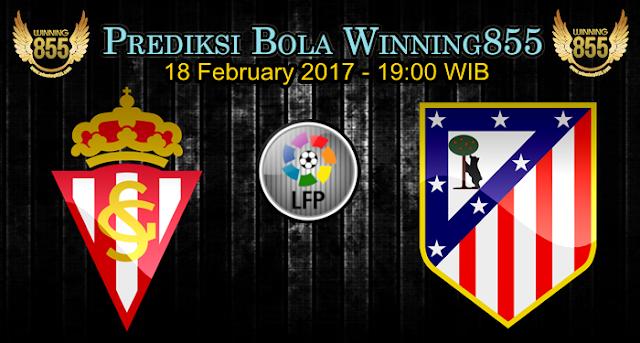 Prediksi Skor Sporting Gijon vs Atletico Madrid 18 February 2017