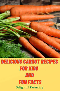 Delightful Parenting Delicious Carrot Recipes For Kids With Fun Facts