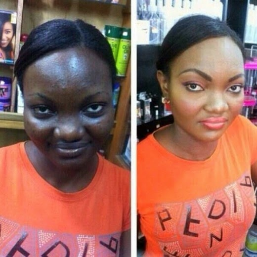 PHOTO: The Miracle and Beauty Of Women Make-Ups
