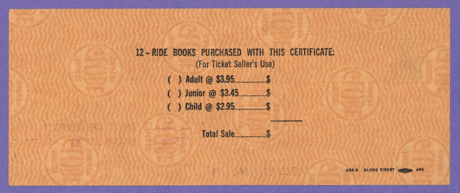 Vintage Disneyland Tickets: Disneyland Special Guest