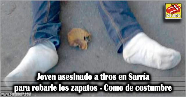 Joven asesinado a tiros en Sarría para robarle los zapatos - Como de costumbre