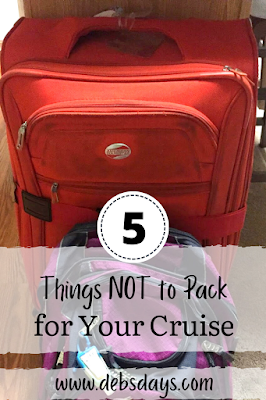 5 things you shouldn't pack for your cruise
