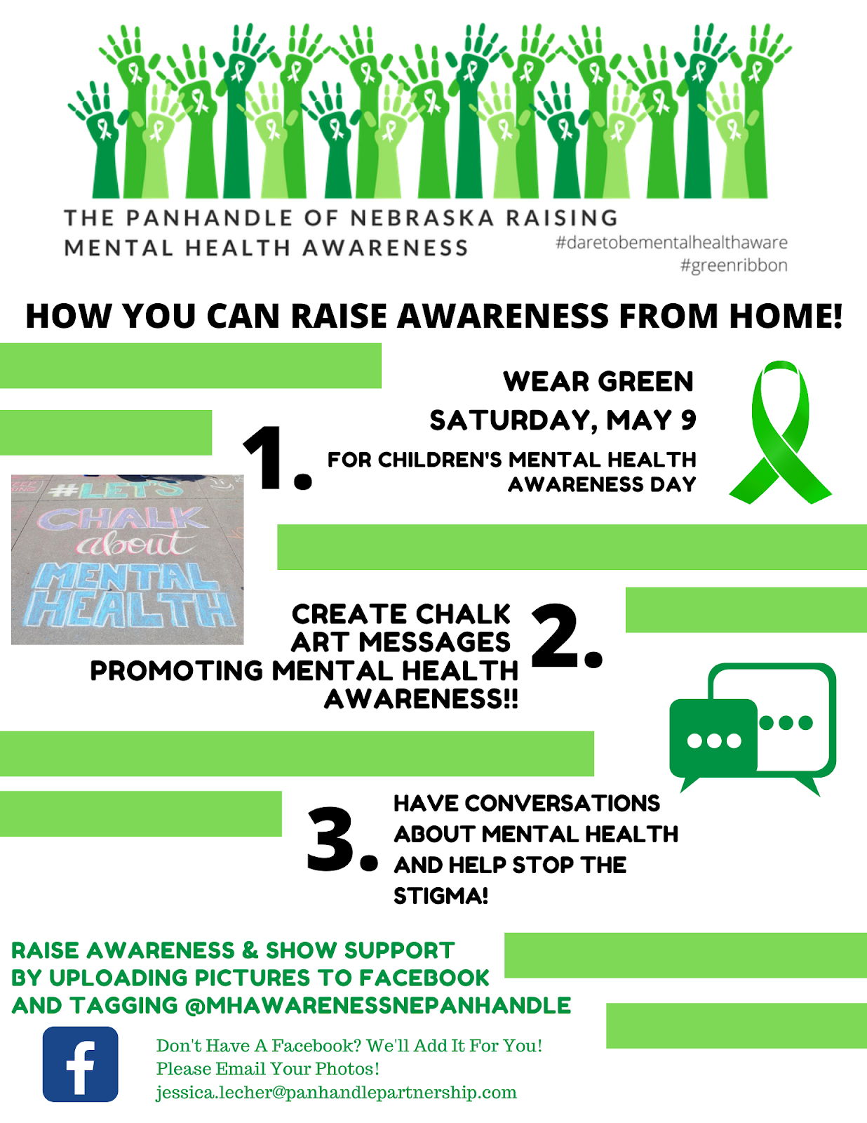 CHADRON MIDDLE SCHOOL: May is Mental Health Awareness Month