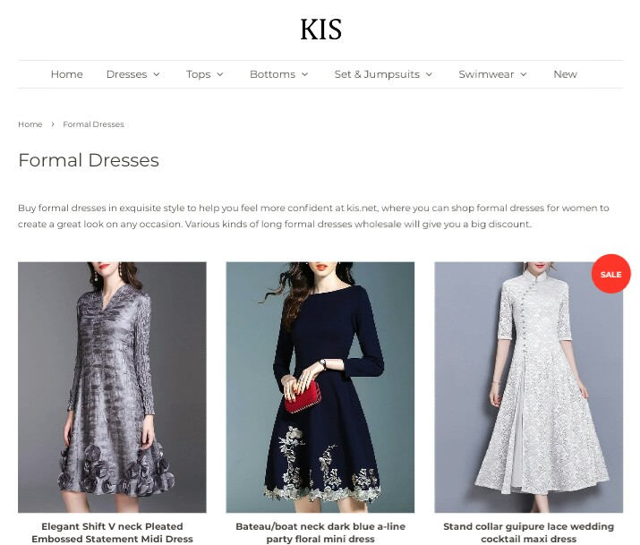 kiss fashion website