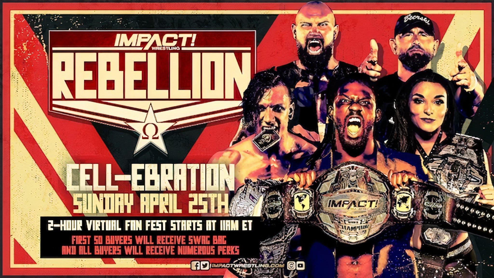 IMPACT Rebellion 2021: Card final do evento!