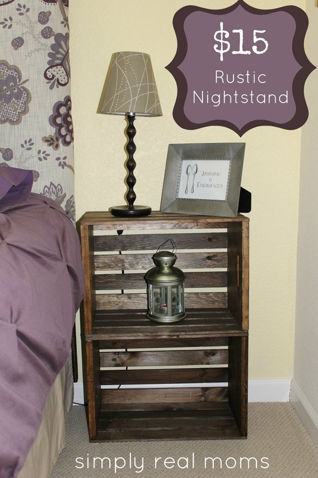 Simply Nightstand $15 Rustic