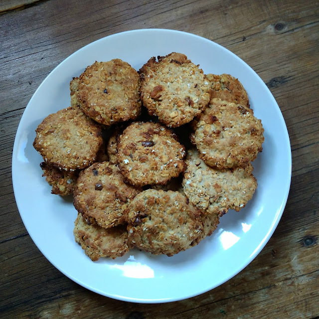 Galletas de avena! / Oat Cookies