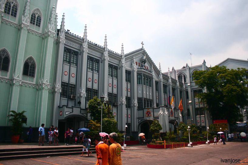 Side building of San Sebastian Church