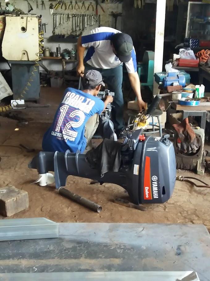 Pebaikan Drat Mesin Water Jet