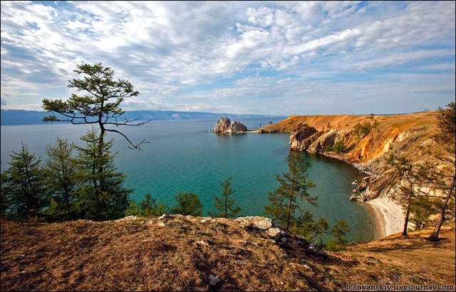 The world's oldest and deepest freshwater lake dating back more than 25 million years