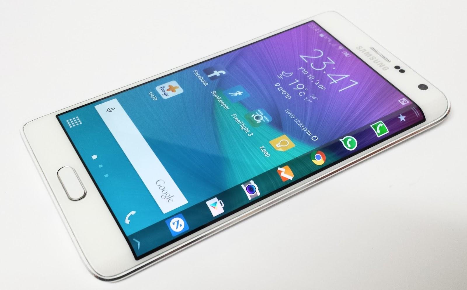 מפוארת חפיצים: כזה ניסיתי: Samsung Galaxy Note Edge JY-95