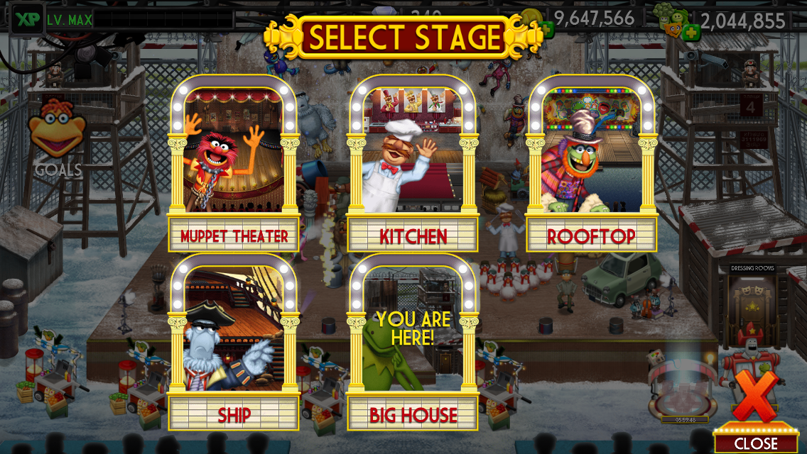my muppet show app update
