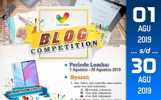 Kompetisi Blog - Vivo Club Indonesia Berhadiah Vivo S1 dan Voucher Belanja