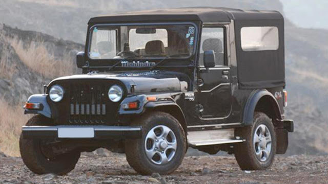 Mahindra Thar SUV Hd Wallpaper