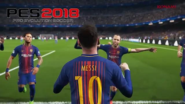 متطلبات تشغيل لعبة PES 2018 على الكمبيوتر
