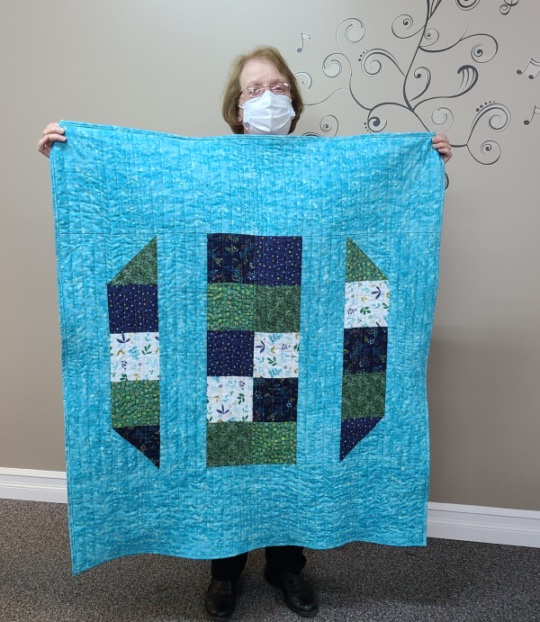 Sadie's first quilt | DevotedQuilter.com
