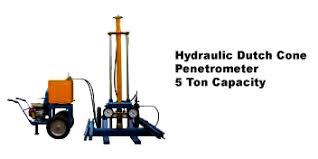 Hydraulic Cone Penetrometer 5 Ton Capacity ( SONDIR )
