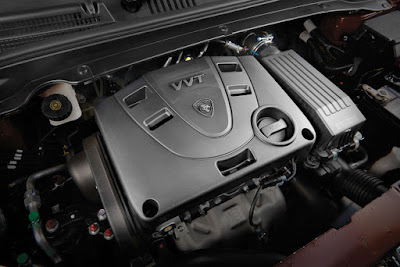 New 2016 Proton Persona sedan engine