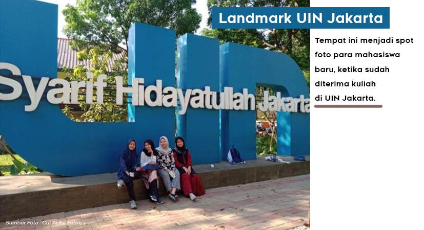 Ini Rekomendasi 4 Spot Foto di UIN Jakarta yang Instagramable Bisa Hunting, Kesana Yuk