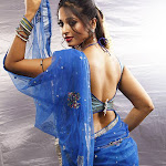 Anushka Shetty hot saree stills