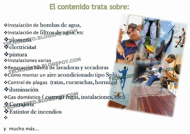 """""""temas reparaciones del hogar"""""""
