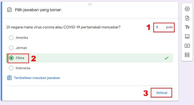 google formulir ujian online