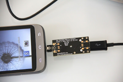 This adaptor supplies electricity to the mobile but stops data exchange completely.