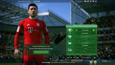 ajuste de equipamiento fifa online 3