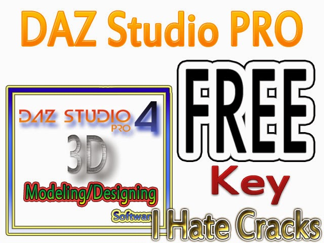 Get DAZ Studio 4.6 Pro (Windows/MAC) With Legal Serial Number (Official Promo)
