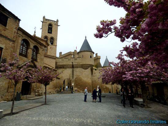 entrada al Palacio de Olite - Castillo de Olite -