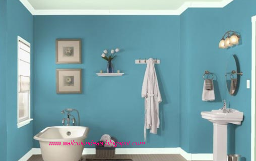 Wall Color Ideas 2012: Bathroom Wall Color