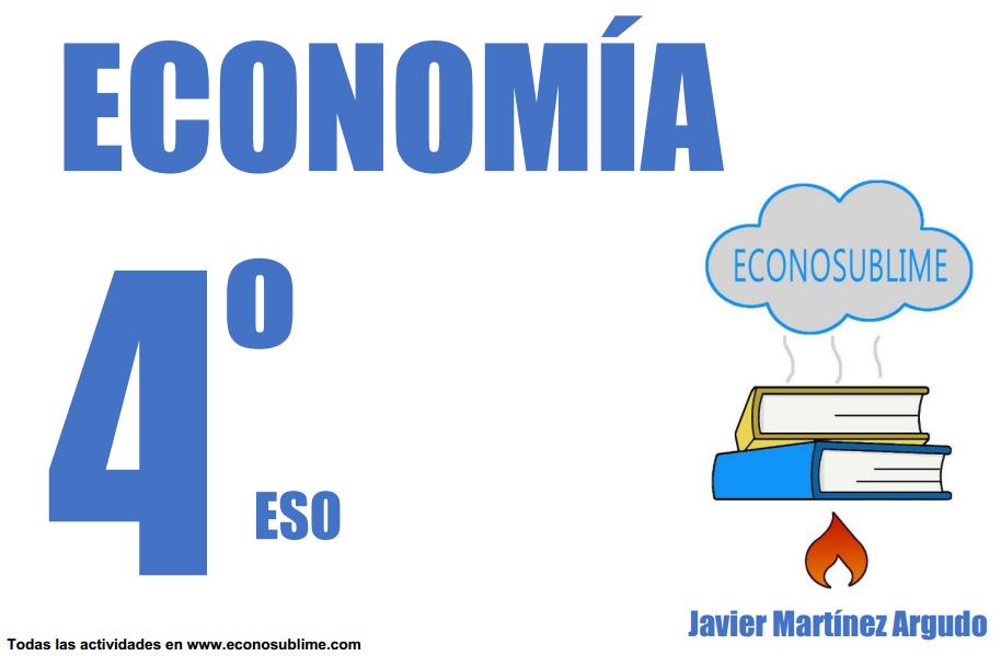 LIBRO ECONOMÍA 4º ESO - ECONOSUBLIME