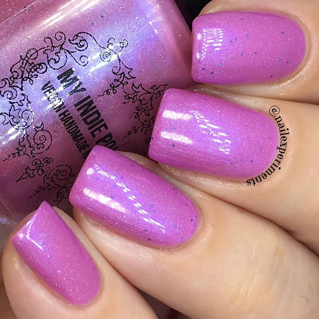 my indie polish the pinks collection polish in not your average dane