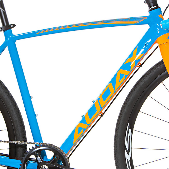 Quadro Audax Bike Pampero Gravel Alumínio