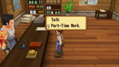 How to Part-Time Work in Harvest Moon: Hero of Leaf Valley