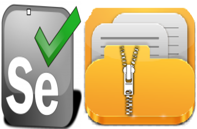 Unzipping the Zip File in Selenium Web Driver - QA Automation