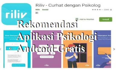 Rekomendasi Aplikasi Psikologi Android Gratis