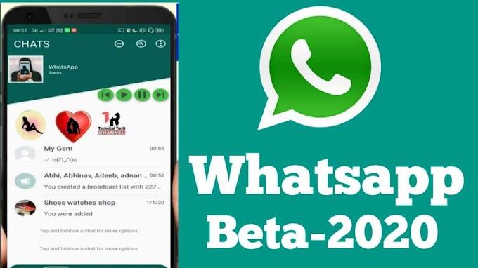 Whatsapp Beta Version 2020 | Whatsapp For Android Beta 2.20.4 Download