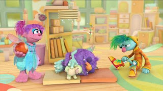 Abby's Flying Fairy School Sleeping Blöggy, Abby Cadabby, Blögg, Gonnigan, Sesame Street Episode 4407 Still Life With Cookie season 44