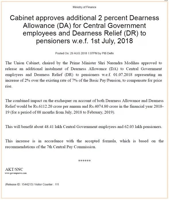 cabinet-approves-additional-2-percent-dearness-allowance
