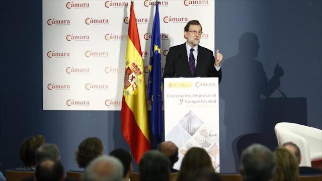 """Rajoy llama a autoridades catalanes """"delirios autoritarios"""""""