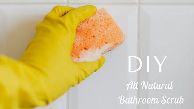 DIY All Natural Bathroom Scrub
